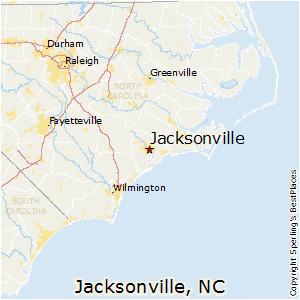 Map Of Jacksonville north Carolina Map Of Jacksonville north Carolina Bnhspine Com