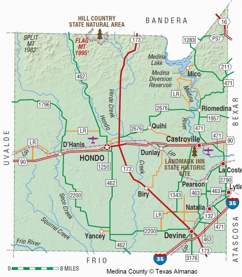 Map Of Medina Ohio Medina County Texas Map Business Ideas 2013