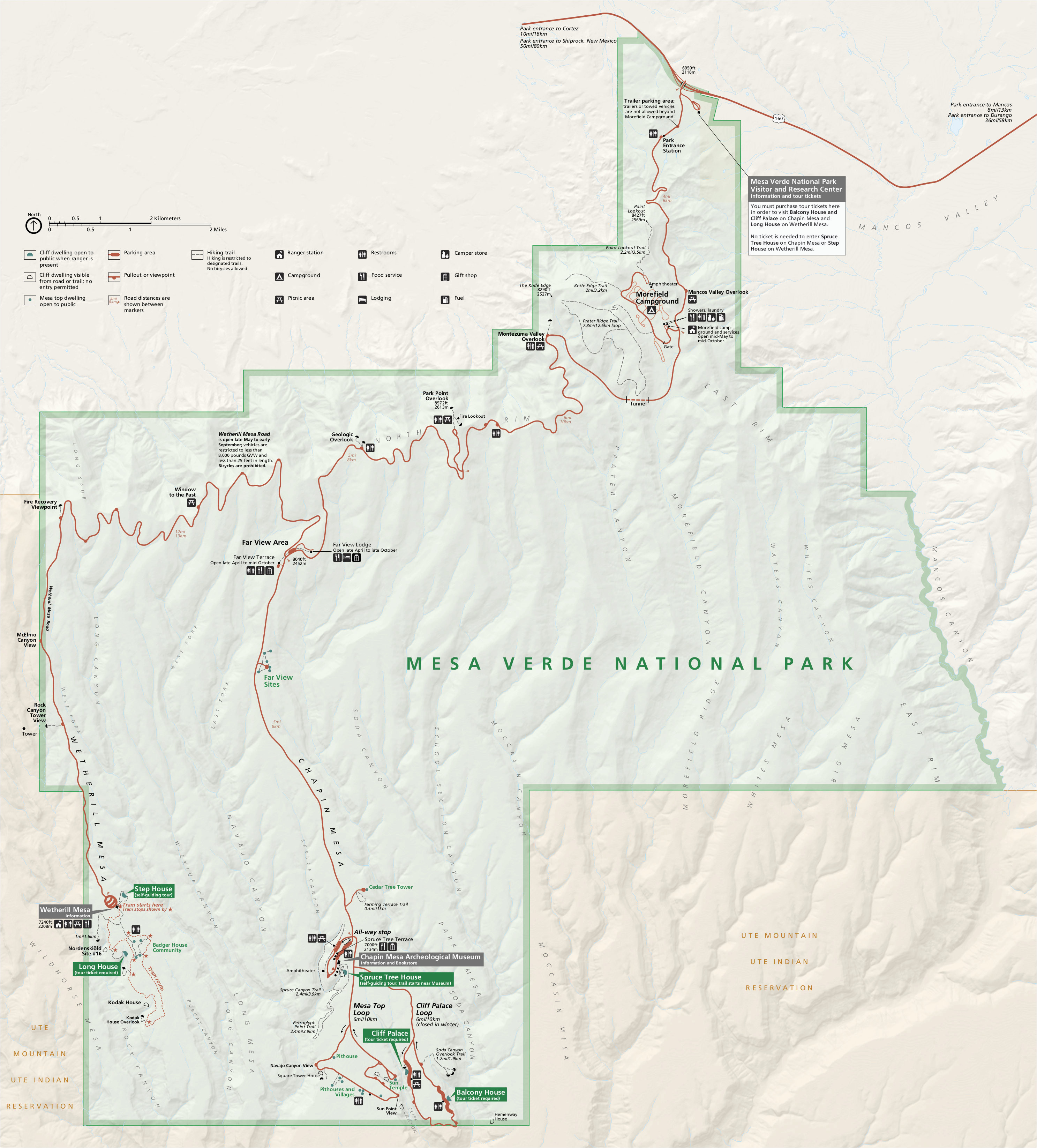 Map Of Mesa Verde Colorado Mesa Verde Maps Npmaps Com Just Free Maps Period