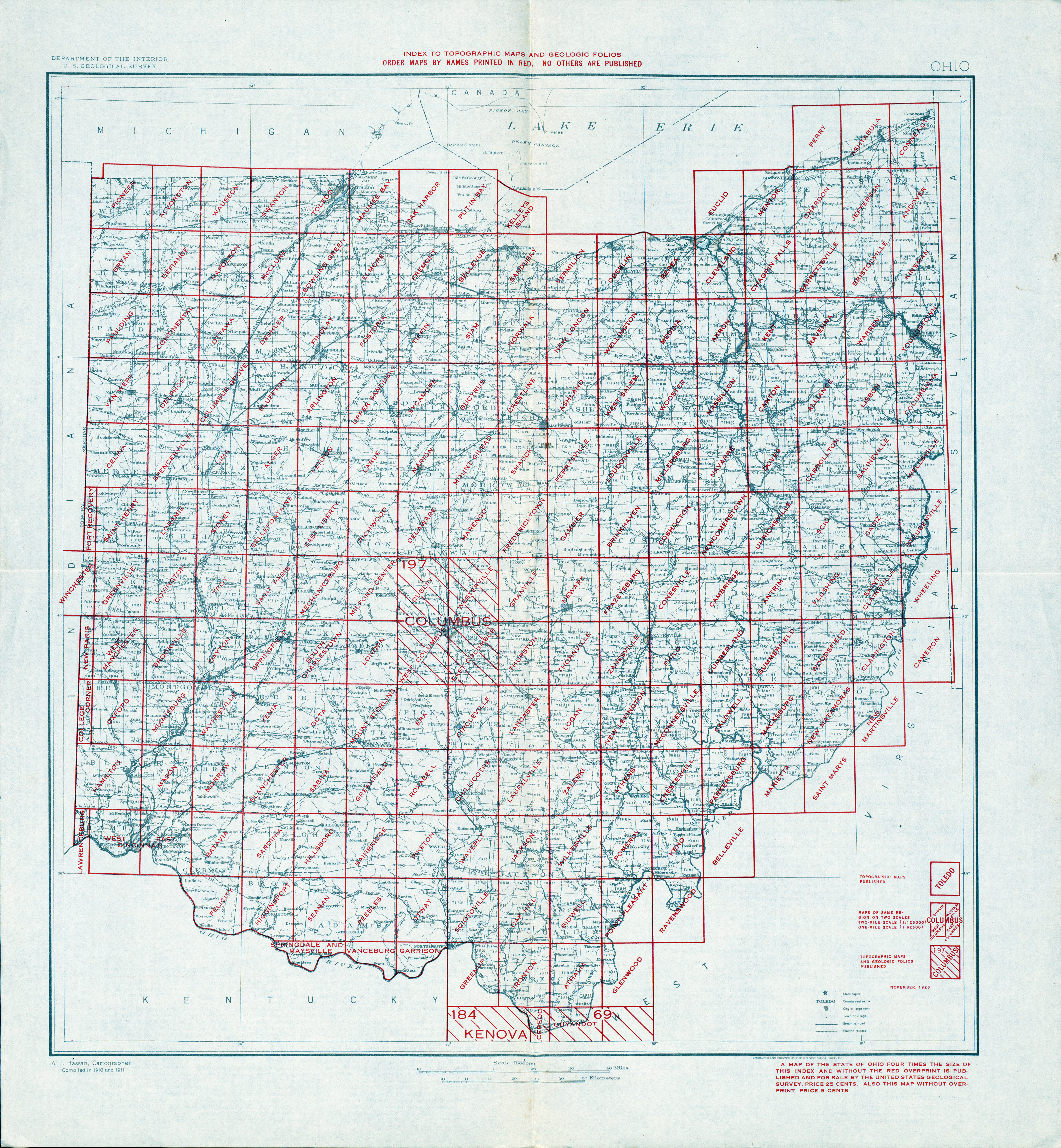Map Of Muskingum County Ohio Ohio Historical topographic Maps Perry Castaa Eda Map Collection