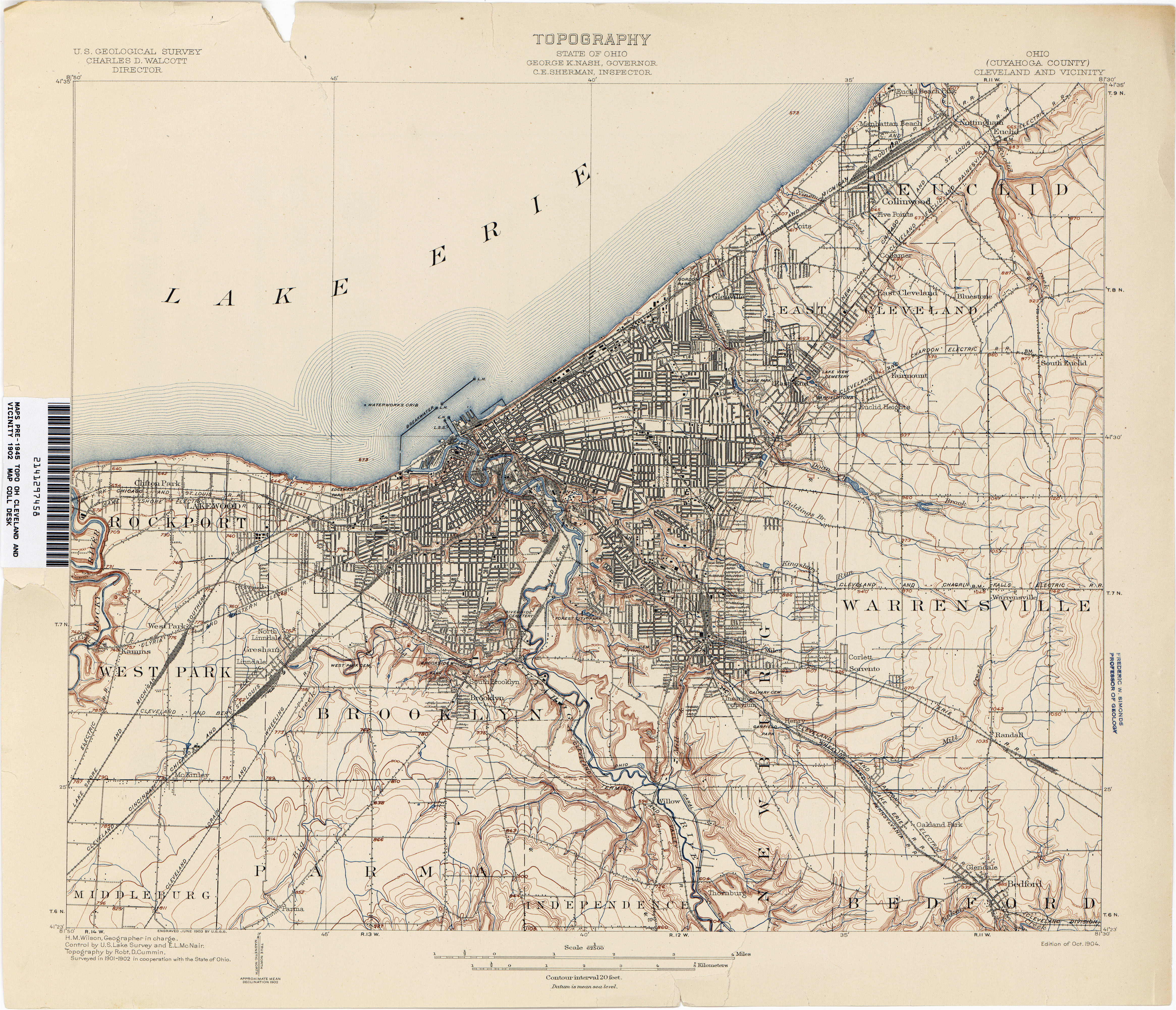 Map Of north Olmsted Ohio Ohio Historical topographic Maps Perry Castaa Eda Map Collection