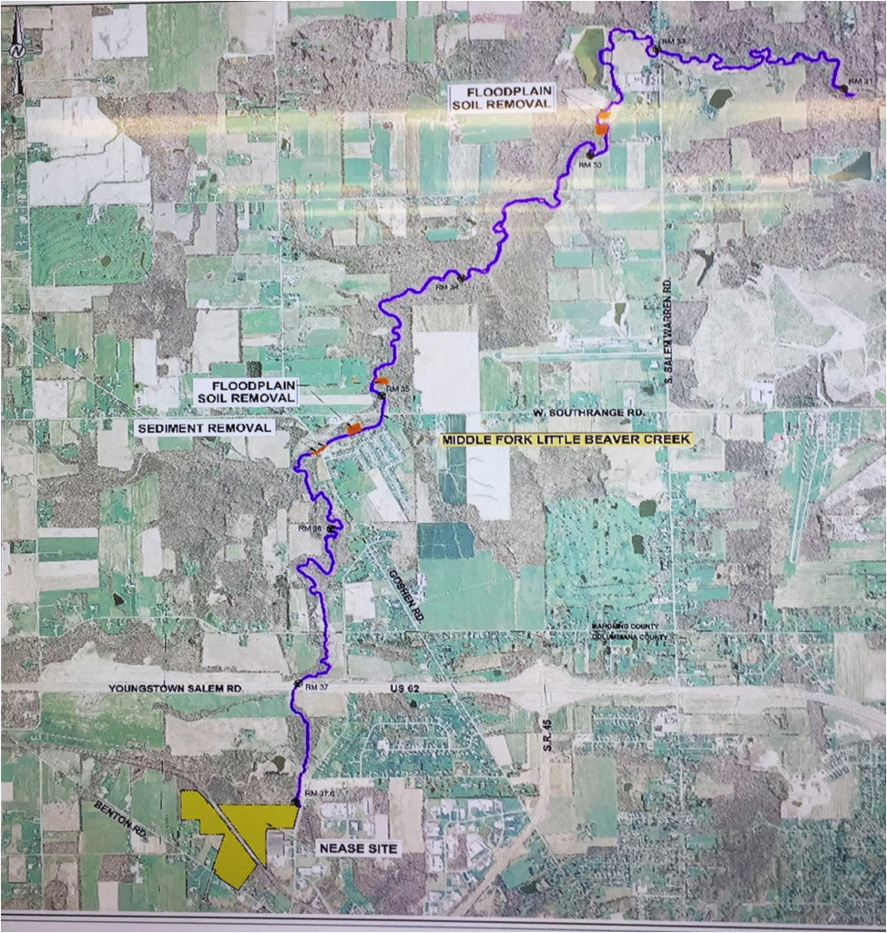Map Of Salem Ohio Nease Clean Up Set to Start This Month News Sports Jobs Salem News