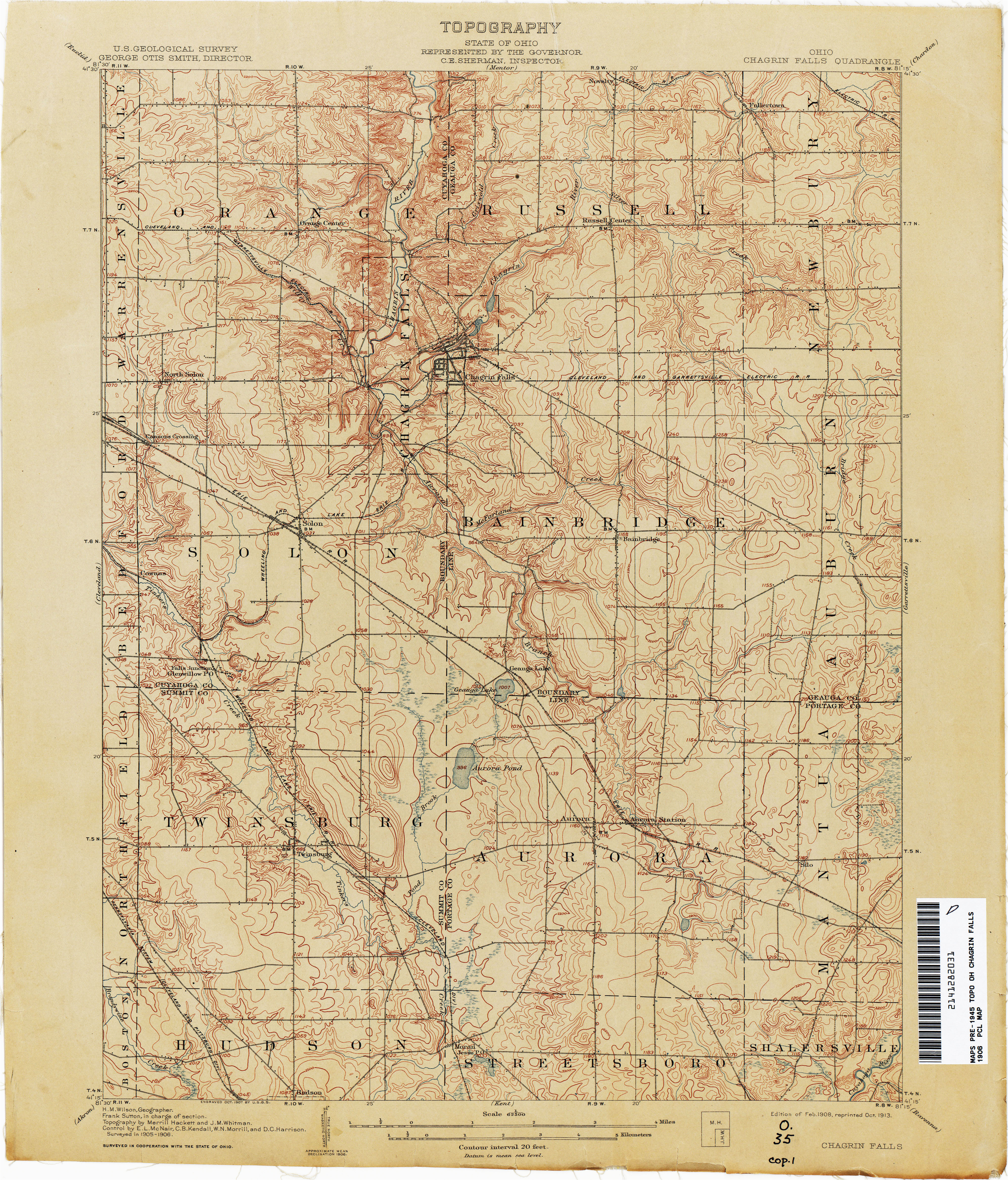 Map West Chester Ohio Ohio Historical topographic Maps Perry Castaa Eda Map Collection