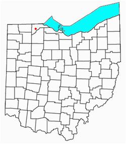 Monclova Ohio Map Monclova Revolvy