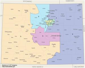 Ohio State Representative District Map Colorado S Congressional Districts Wikipedia
