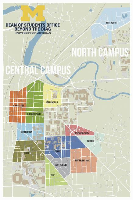 Shelby Michigan Map Colleges In Michigan Map Fresh Beyond the Diag F Campus Housing