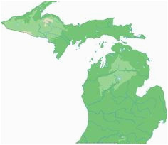 Topographical Map Michigan 51 Best topographical State Maps Images Blue Prints Cards Map