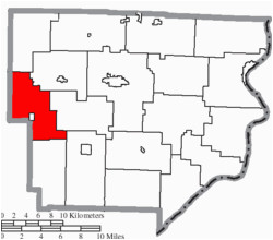 Where is Franklin Ohio On the Map Franklin township Monroe County Ohio Wikipedia