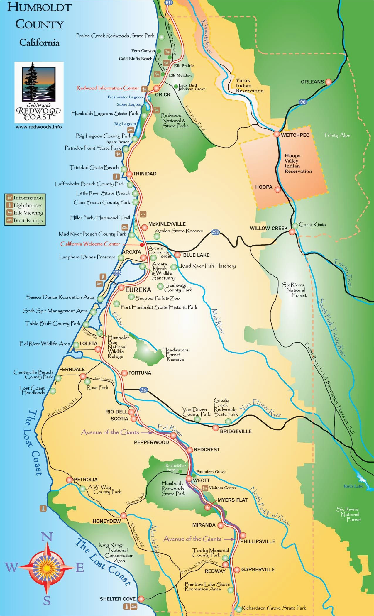 Agate Beach oregon Map Map Of California and oregon Coast Outline Humboldt County