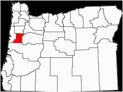Benton County oregon Map Benton County oregon Wikipedia