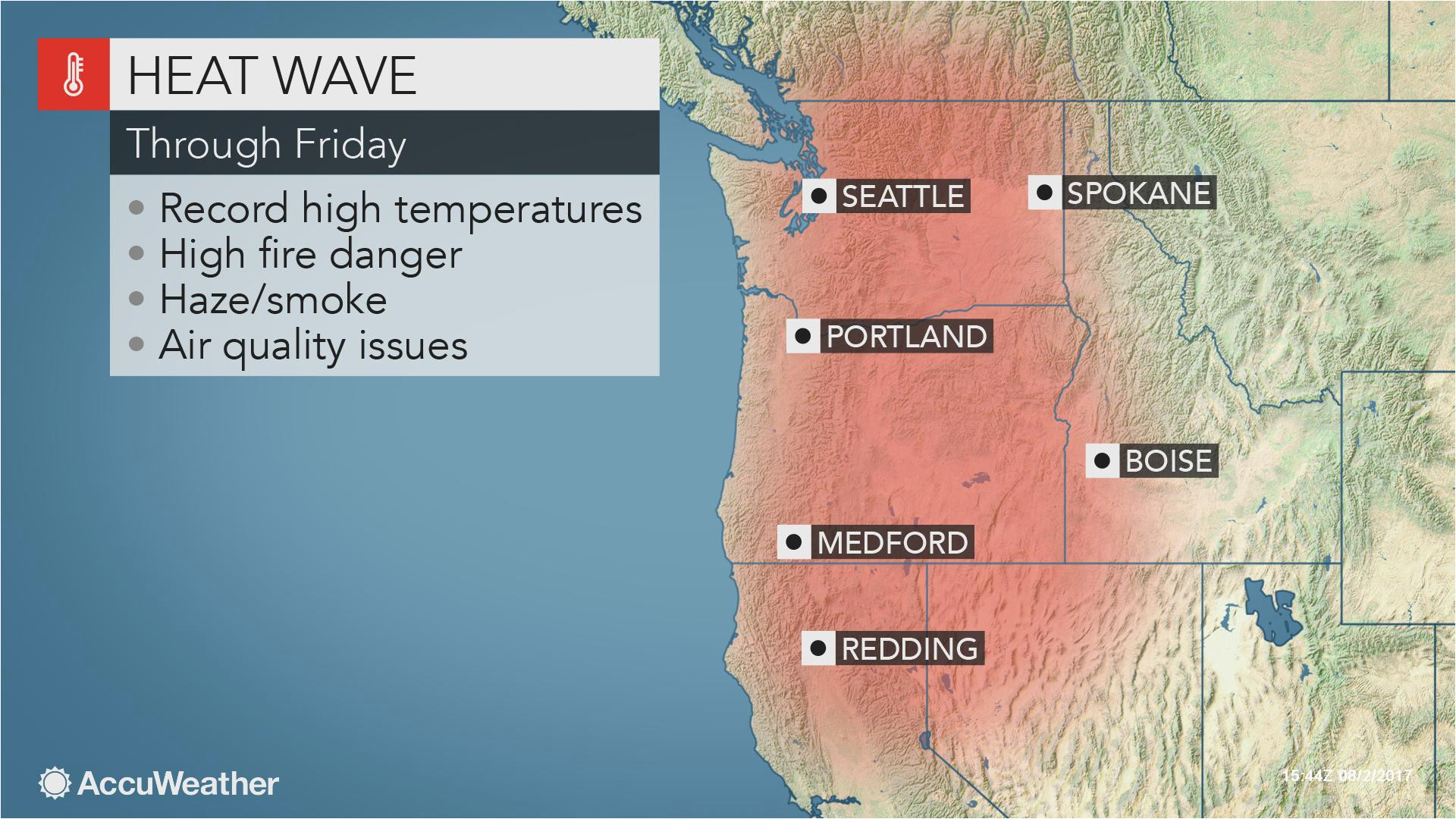 Enterprise oregon Map northwestern Us Heat Wave to Jeopardize All Time Record Highs
