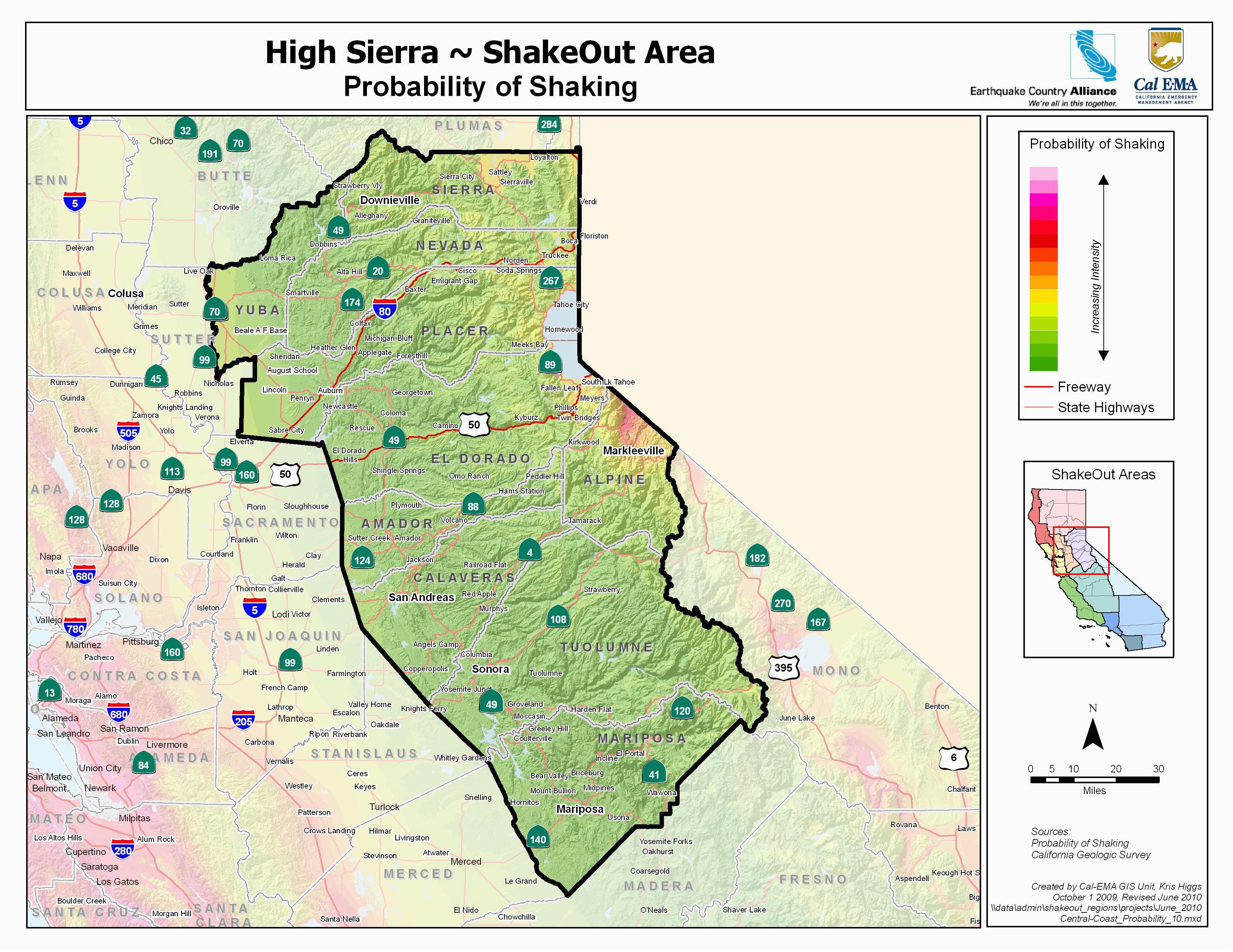 Google Maps Santa Ana California Sierra Nevada Map California Klipy org