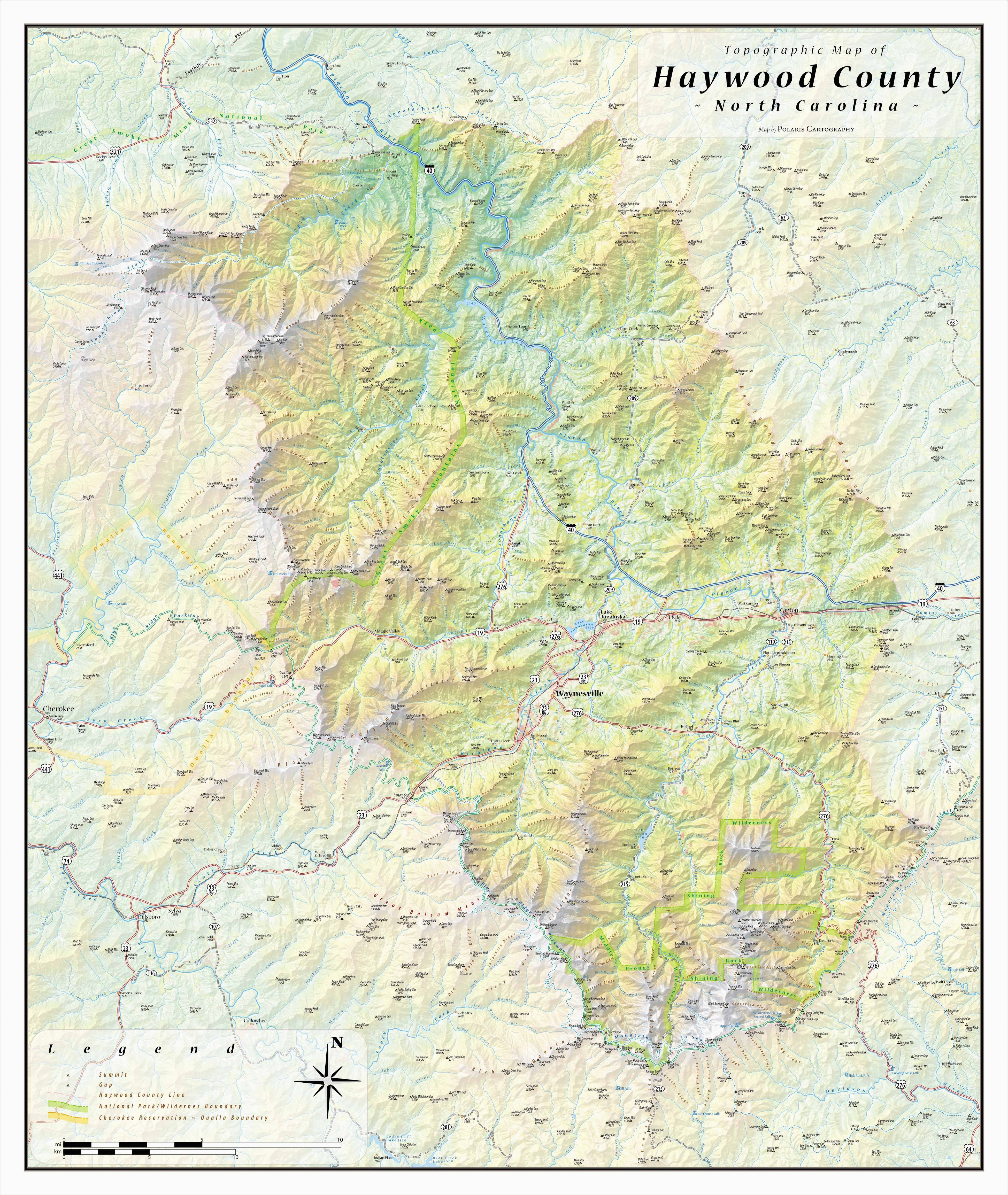 Map Boone north Carolina Haywood County topographical Map Haywood north Carolina Mappery