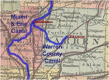 Miami Of Ohio Map Historic Ohio Canals Revolvy