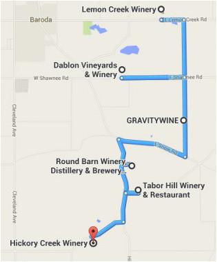 Michigan Wine Trail Map Winery Map Stunning southwest Michigan Wine Trail Map Diamant Ltd Com
