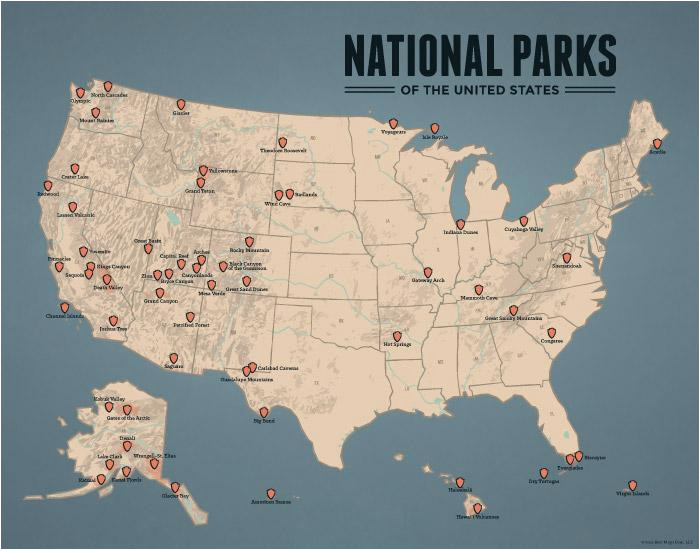 National Parks oregon Map National Parks Best Maps Ever