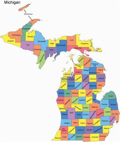 Where is Jackson Michigan On A Map Michigan Map with Counties Big Michigan Love Michigan Map Guns