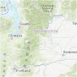 Earthquake Map oregon Pnsn Pacific northwest Seismic Network