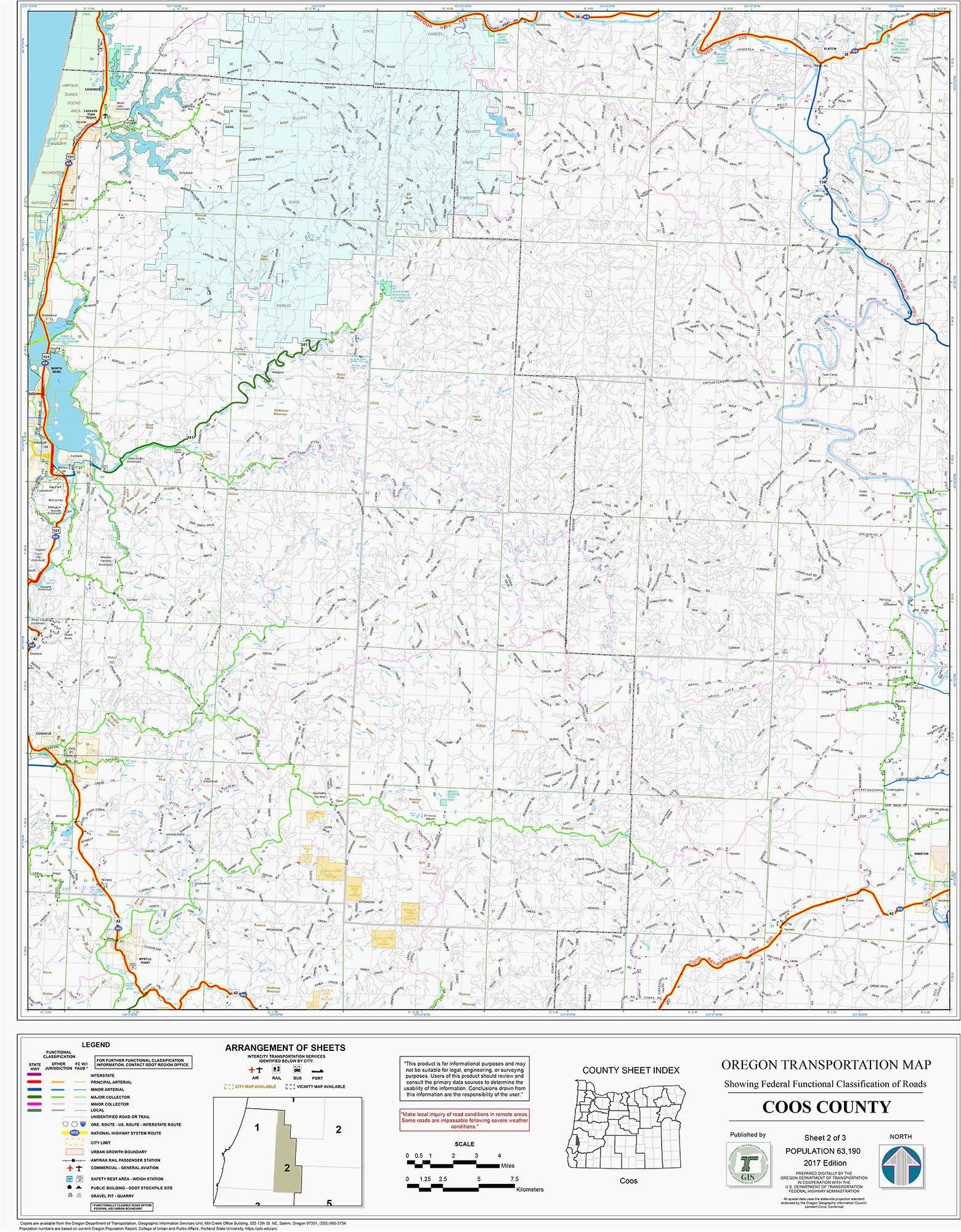 Geographical Map Of oregon Map Lakeview oregon Secretmuseum