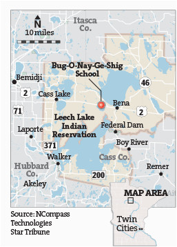 Indian Casinos In Minnesota Map Part 1 Indian Schools A Nation S Neglect Startribune Com