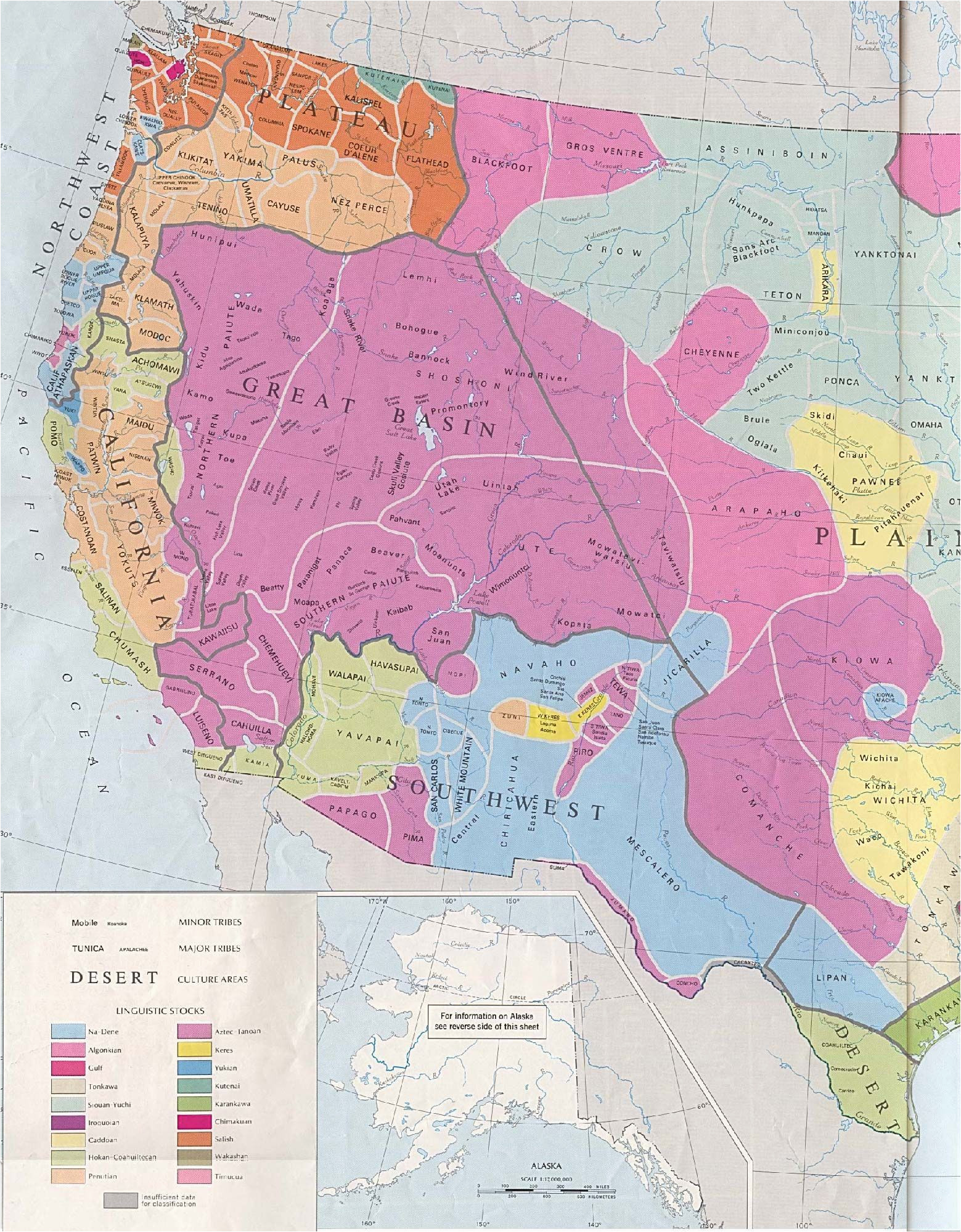 Map Of Minnesota Indian Reservations Early Western Indians Tribes and Cultures Of the Western U S