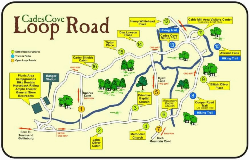 Map Of Sevierville Tennessee Cades Cove Places I Enjoy In 2019 Cades Cove Smoky Mountains