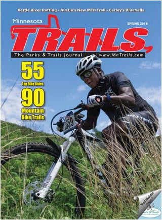 Minnesota Bike Map Minnesota Trails Spring 2018 by Minnesota Trails Magazine issuu