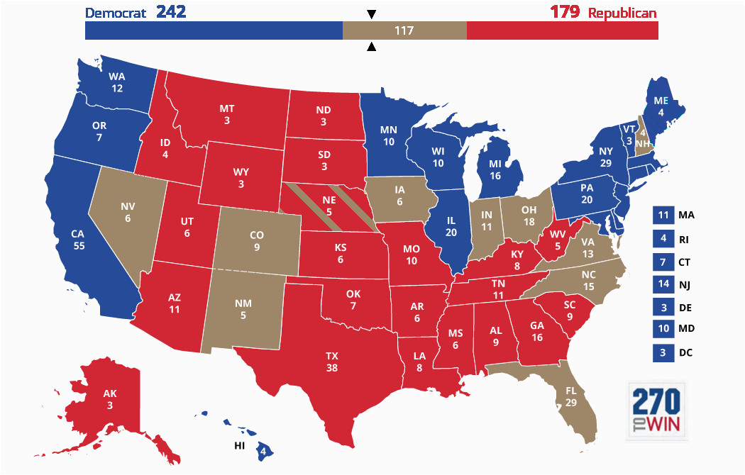 Minnesota Election Results Map Blue and Red States