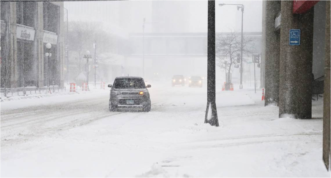 Minnesota Winter Driving Conditions Map Snow Ice to Unleash Treacherous Travel Over north Central Us