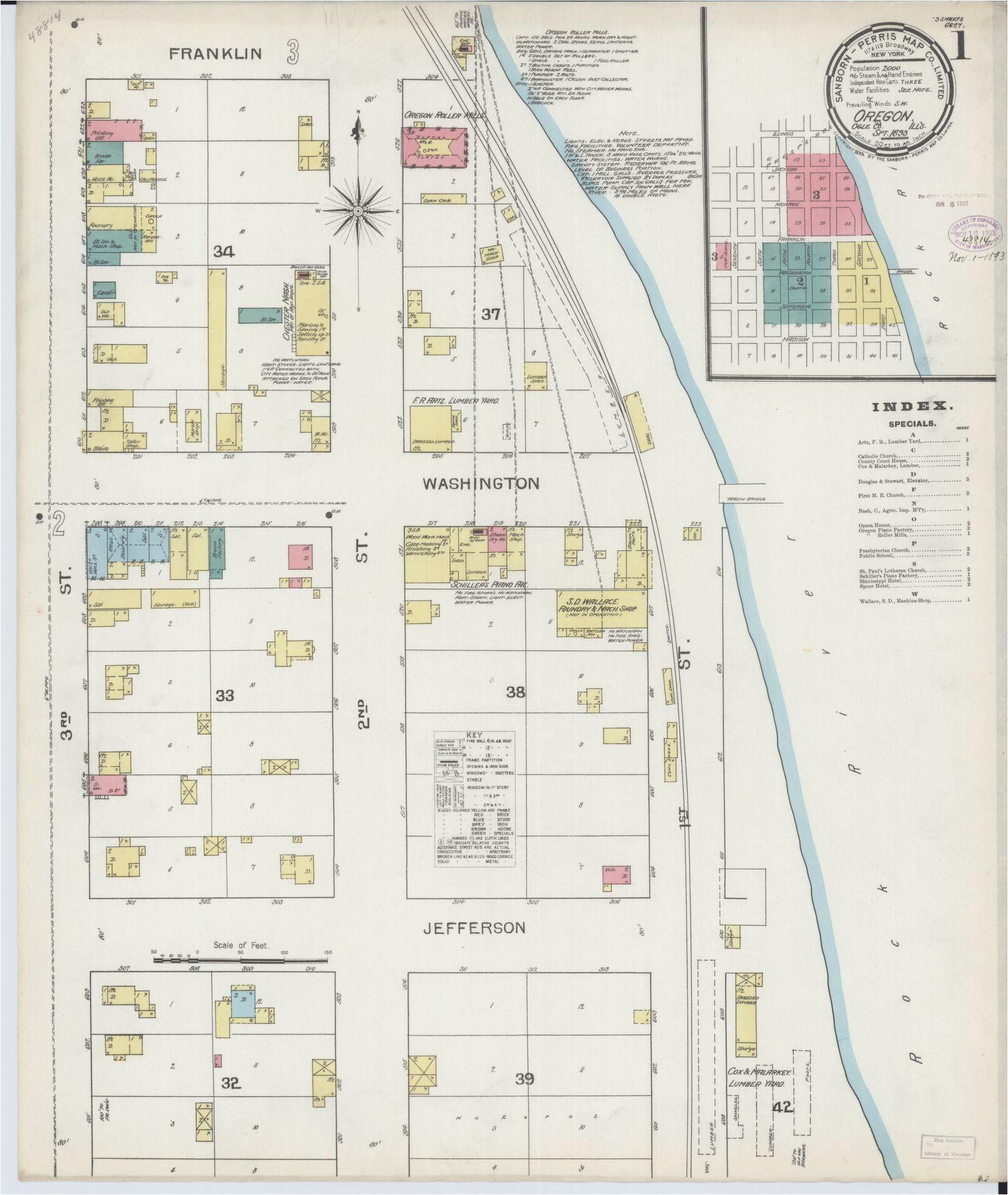 Scio oregon Map Map oregon Library Of Congress