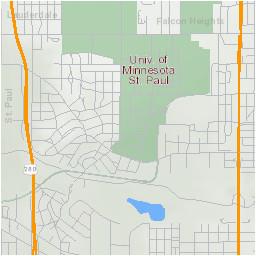 University Of Minnesota Campus Map Campus Maps
