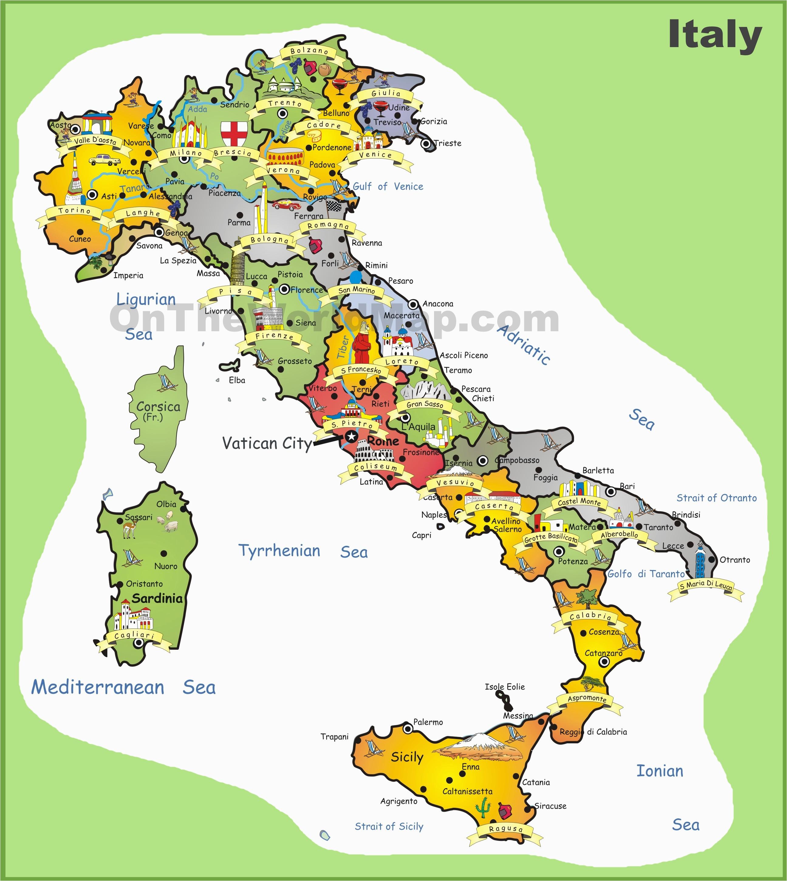 Barletta Italy Map Italy tourist Map Marvelous Map Od Italy Diamant Ltd Com