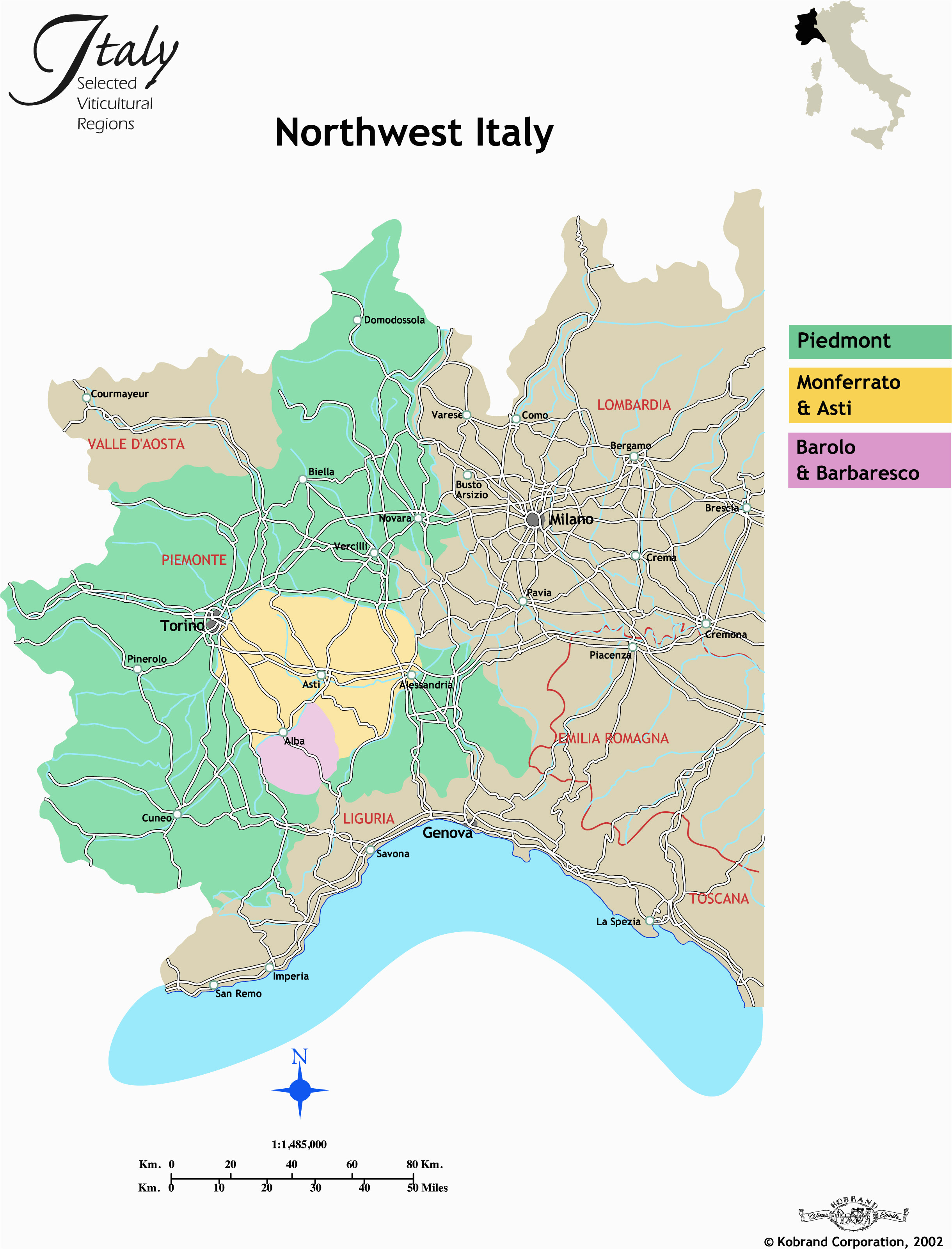 Biella Italy Map Map Of north West Italy