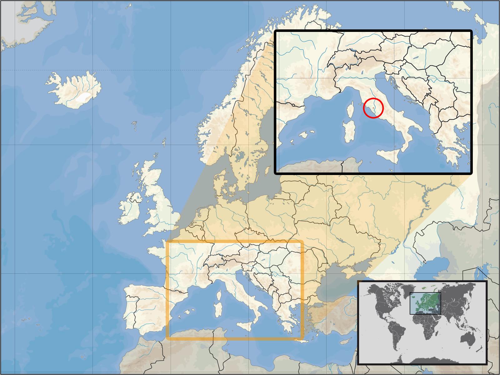 Civita Italy Map atlas Of Vatican City Wikimedia Commons