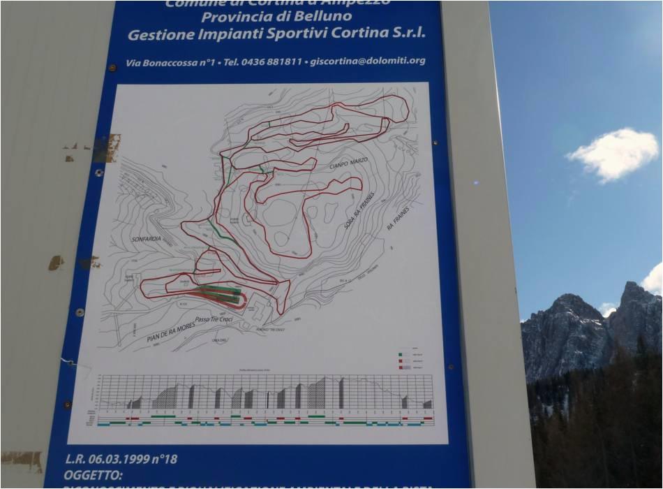 Cortina Italy Map Ski Resort Cortina D Ampezzo Skiing Cortina D Ampezzo