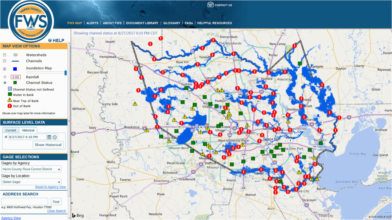 Harris County Texas Flood Maps Here S How the New Inundation Flood Mapping tool Works