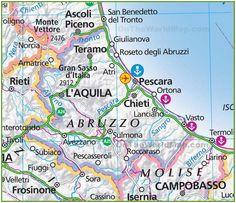 Isernia Italy Map Pinterest