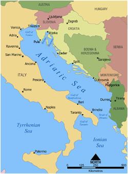 Italy Adriatic Coast Map Adriatic Sea Wikipedia