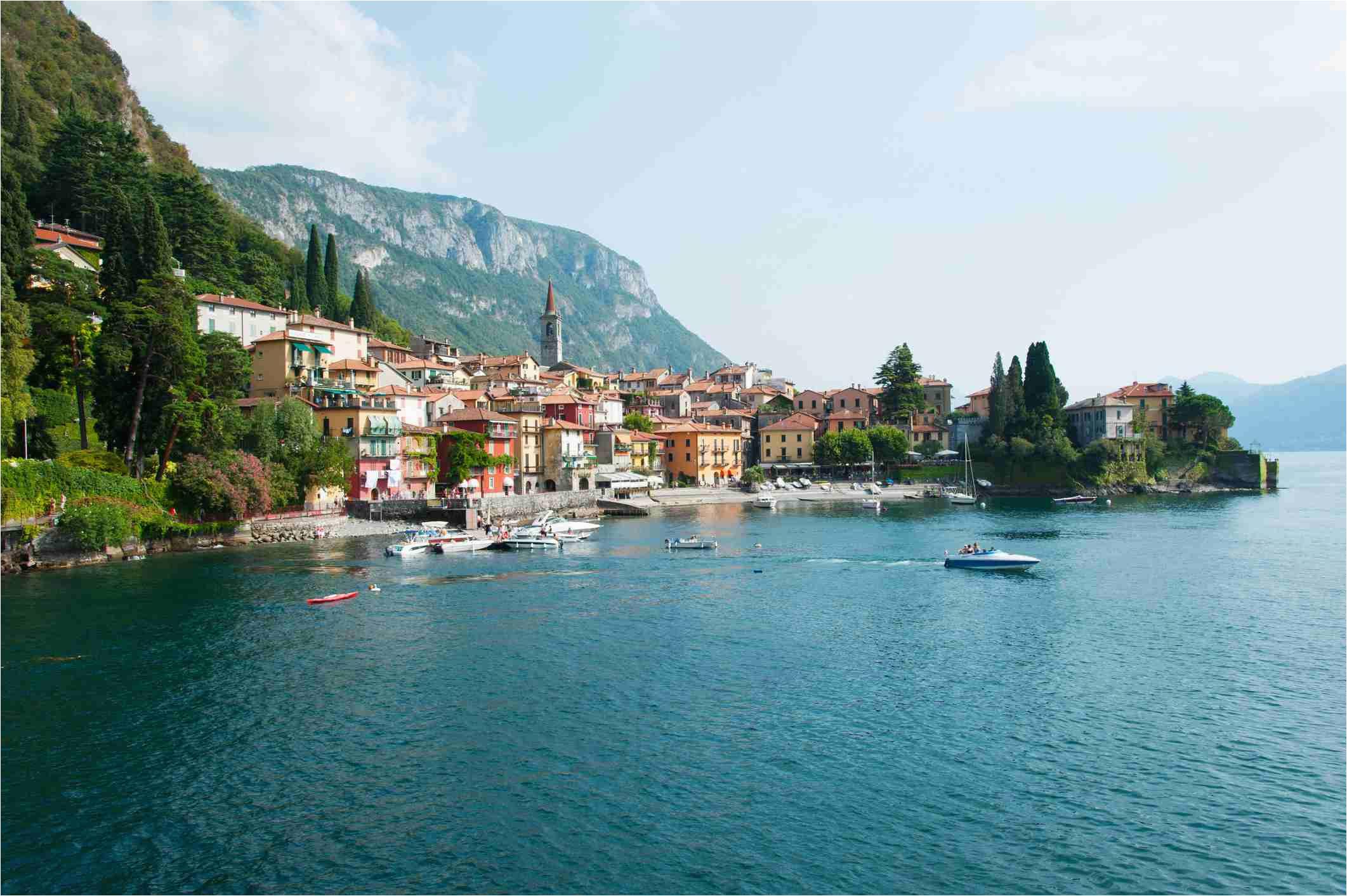 Lake Como On Map Of Italy Italy S Lake Region