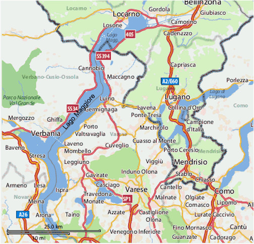 Lakes Of Italy Map Map Of Lake Maggiore Italy In 2019 Map Italy
