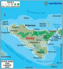Lampedusa Italy Map 14 Best Sicily Travel Planning Images Destinations Places to