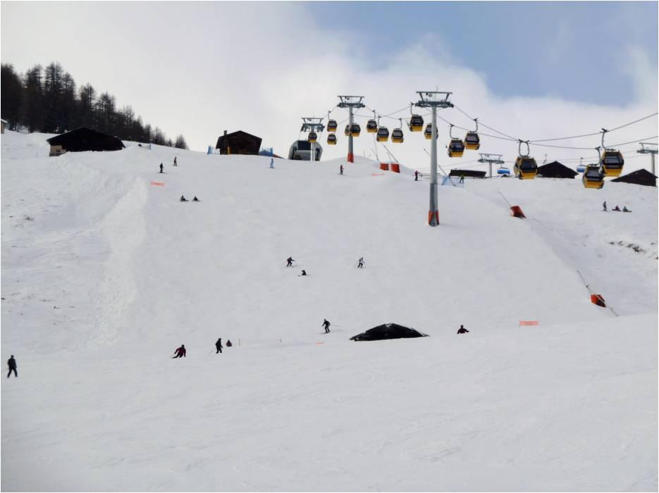 Livigno Italy Map Slopes Livigno Runs Ski Slopes Livigno