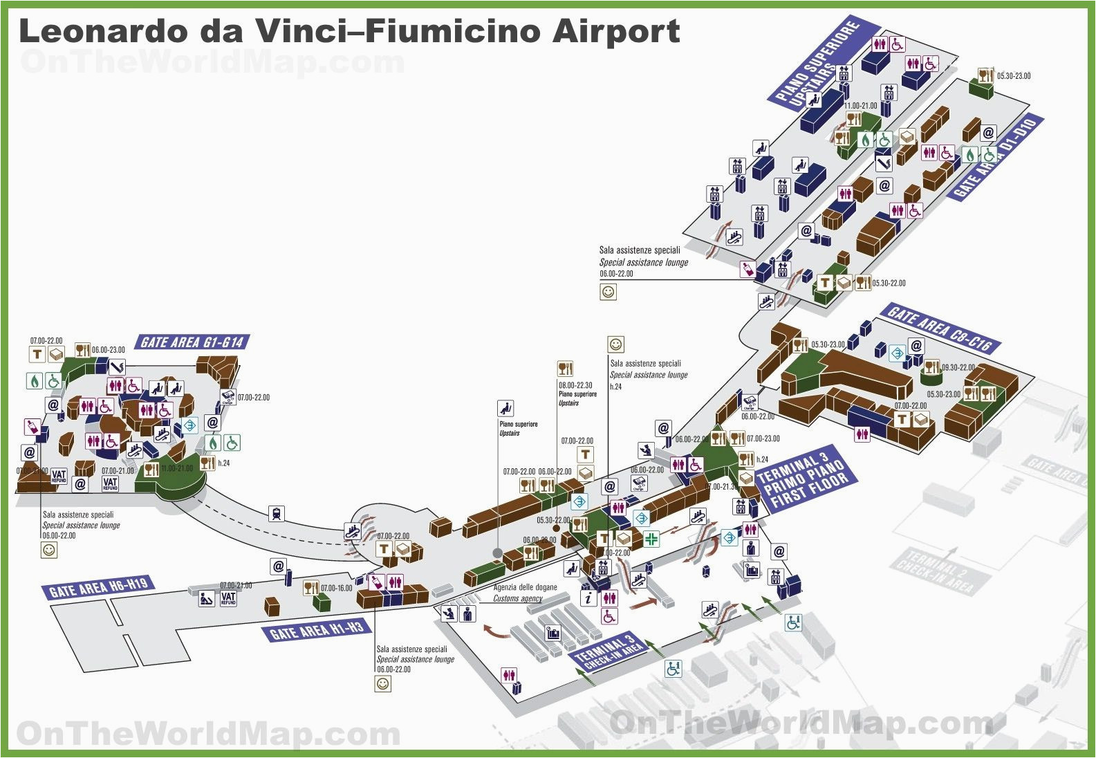 Map Of Italy and Airports Pin by Jeannette Beaver On Pilot In 2019 Leonardo Da Vinci Rome