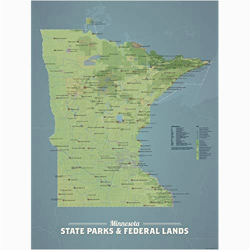 Map Of Michigan Wisconsin and Minnesota Map Of Minnesota Amazon Com