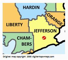 Map Of Terrell Texas Jefferson County Texas Genealogy Genealogy Familysearch Wiki