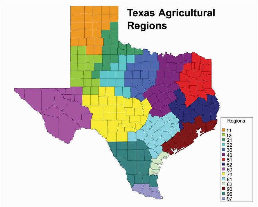 Map Of the Regions Of Texas Texas Agriculture Regions This is A Great tool to Explore the