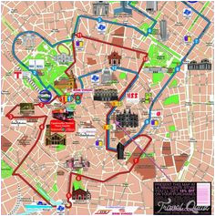 Milan Italy Map tourist 9 Best Milan Map Images Milan Map Cartography Drawings
