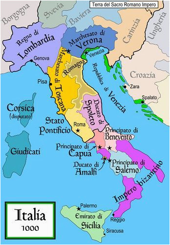 Rome On A Map Of Italy Map Of Italy Roman Holiday Italy Map European History southern