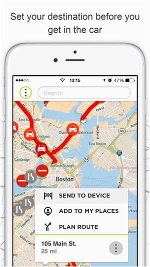 Tomtom Italy Map tomtom Mydrivea On the App Store