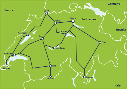 Train Routes Italy Map Switzerland by Train From 307 Switzerland Train Routes Eurail Com